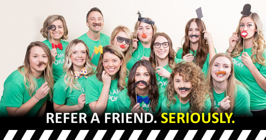 Refer a Friend Program: Dr. Larrabee with the Advanced Orthodontics Team in Mesa AZ